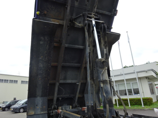 三菱 H25 スーパーグレート ダンプ 造りボディ  画像17