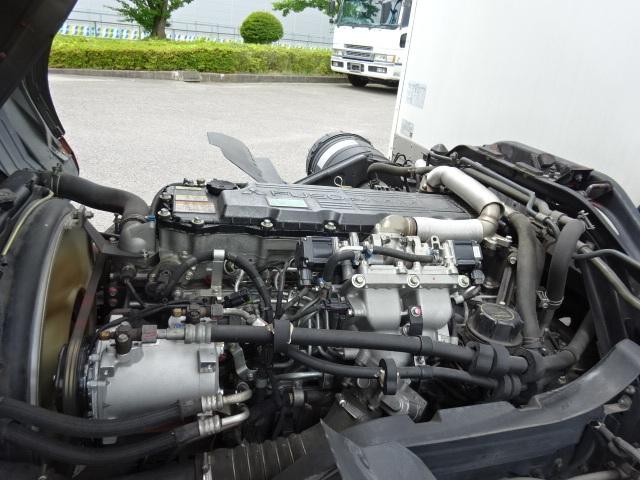三菱 H24 ファイター フルワイド 低温冷凍車 格納PG 画像14