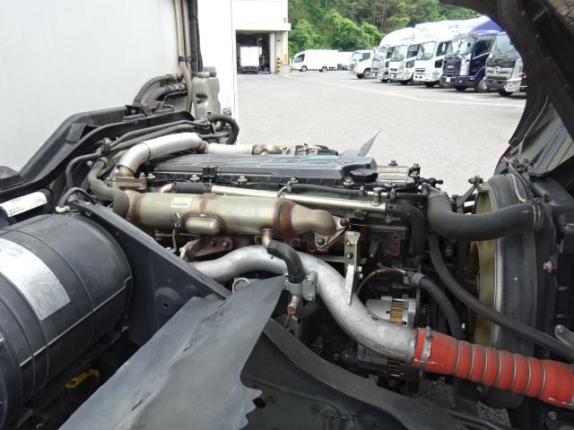 三菱 H24 ファイター フルワイド 低温冷凍車 格納PG 画像15