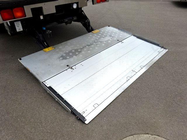 三菱 H24 ファイター フルワイド 低温冷凍車 格納PG 画像9