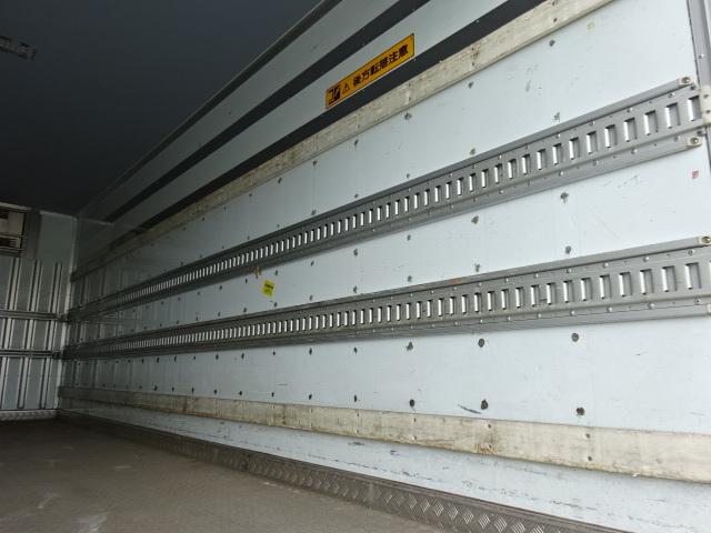 三菱 H24 ファイター フルワイド 低温冷凍車 格納PG 画像12