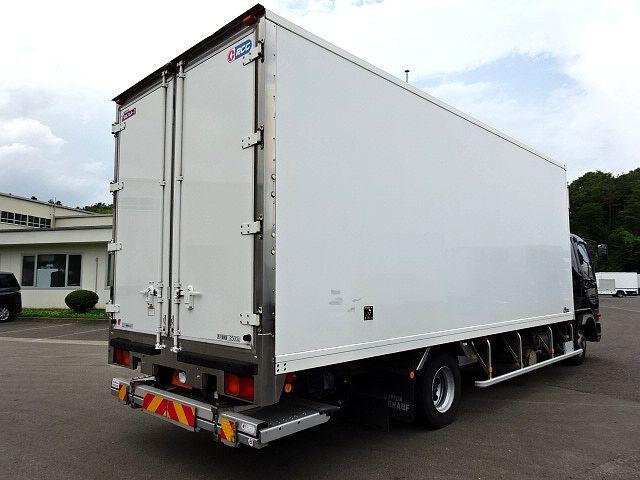三菱 H24 ファイター フルワイド 低温冷凍車 格納PG 画像6