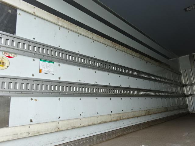 三菱 H24 ファイター フルワイド 低温冷凍車 格納PG 画像11