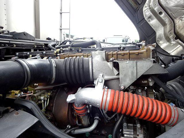 三菱 H23 スーパーグレート 3軸 低温冷凍車 画像11