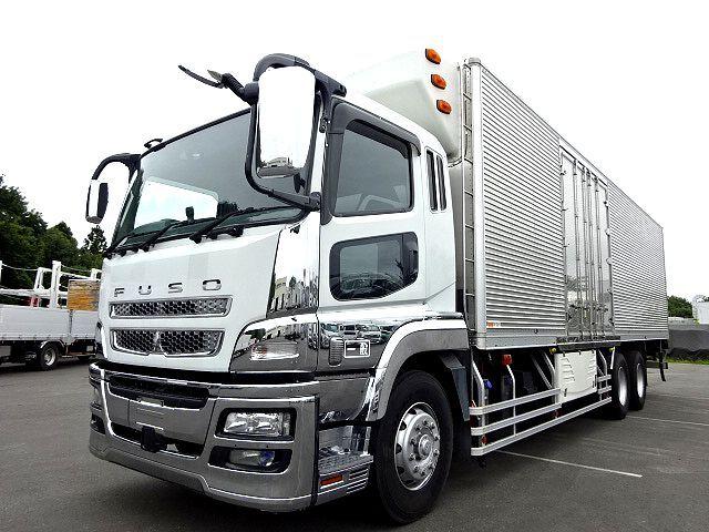 三菱 H23 スーパーグレート 3軸 低温冷凍車 画像1