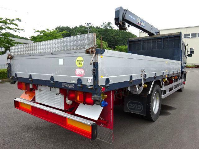 日野 H17 レンジャー 平 アルミブロック 増トン 3段クレーン 画像9