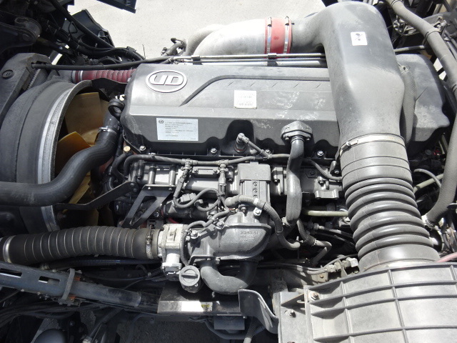 UD H27 クオン 4軸 冷凍ウィング  車検付き 画像23