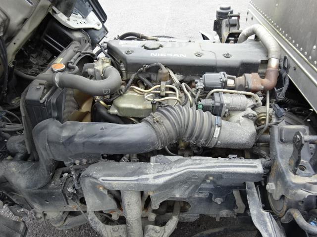 日産 H15 アトラス ロングアルミバン 車検付 画像16