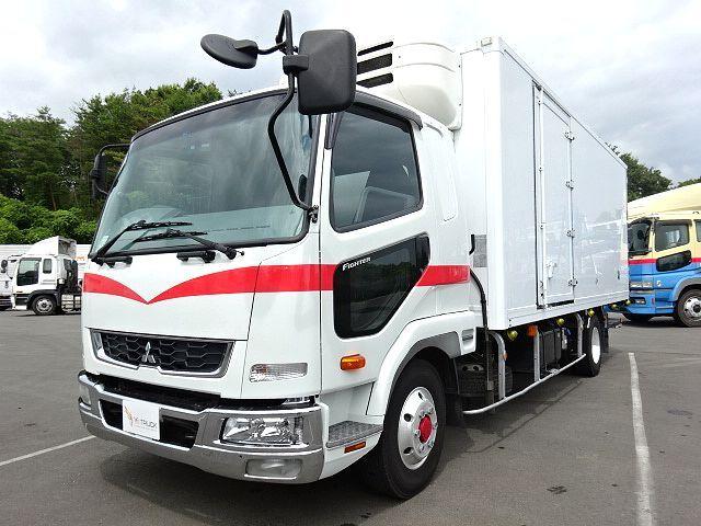 三菱 H24 ファイター 低温冷凍車 格納PG  画像1