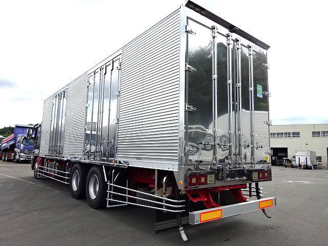 三菱 H19 スーパーグレート 3軸 低温冷凍車  画像9