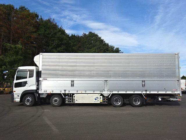 UD H27 クオン 4軸低床 冷凍ウィング 格納PG 画像4