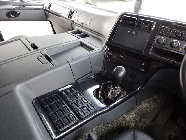 三菱 H21 スーパーグレート ハイルーフ 家畜運搬車 画像24