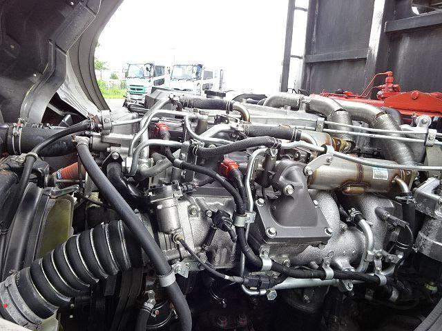 三菱 H21 スーパーグレート ハイルーフ 家畜運搬車 画像19