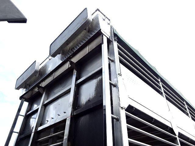 三菱 H21 スーパーグレート ハイルーフ 家畜運搬車 画像12