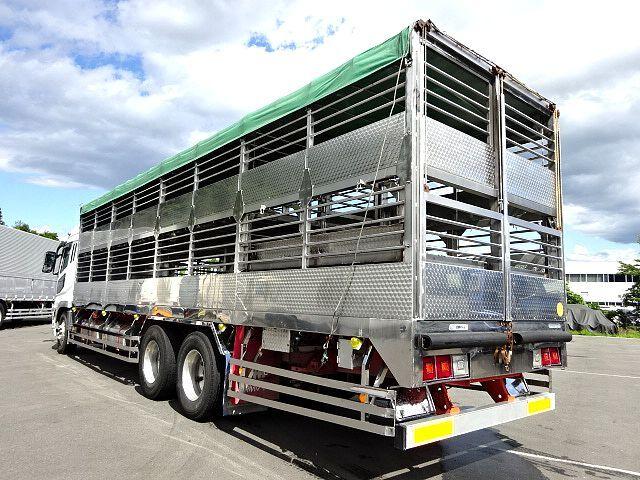 三菱 H21 スーパーグレート ハイルーフ 家畜運搬車 画像8