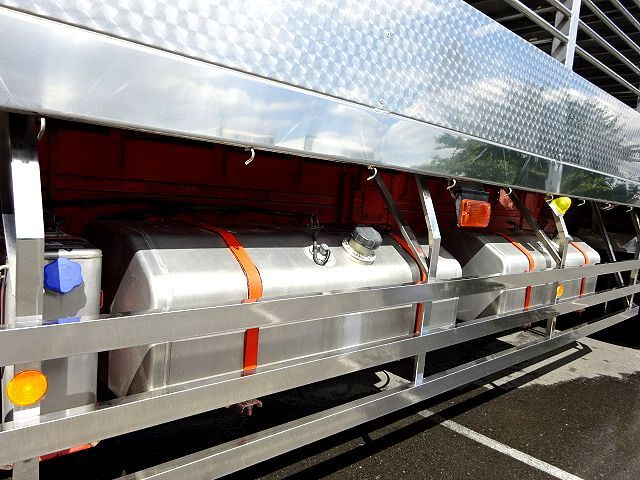 三菱 H21 スーパーグレート ハイルーフ 家畜運搬車 画像13