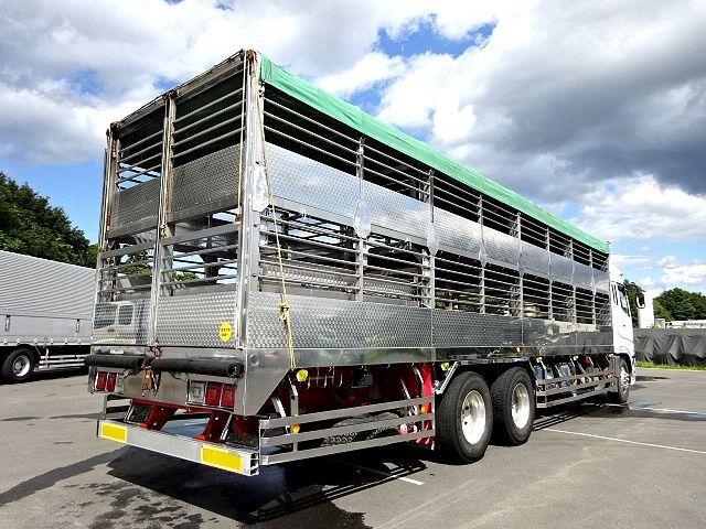 三菱 H21 スーパーグレート ハイルーフ 家畜運搬車 画像6