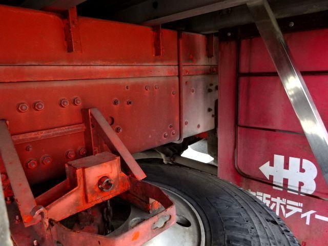 三菱 H21 スーパーグレート ハイルーフ 家畜運搬車 画像15