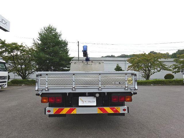 三菱 H26 ファイター 増トン ワイド 平 3段クレーン 画像8