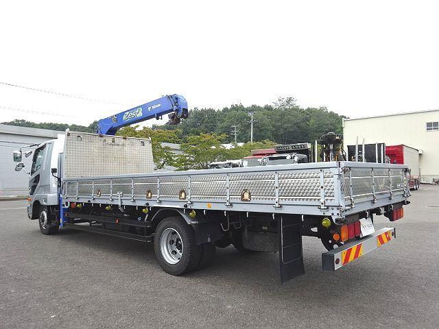 三菱 H26 ファイター 増トン ワイド 平 3段クレーン 画像7