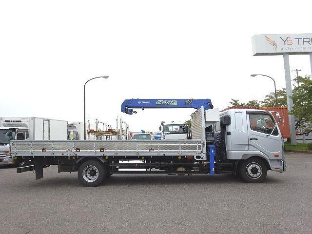 三菱 H26 ファイター 増トン ワイド 平 3段クレーン 画像6