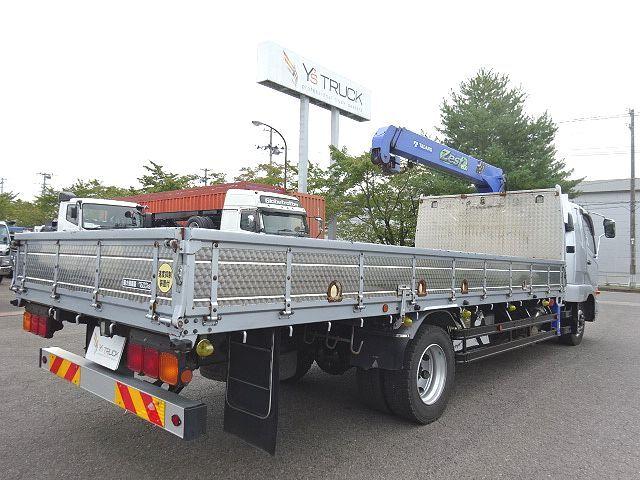 三菱 H26 ファイター 増トン ワイド 平 3段クレーン 画像9