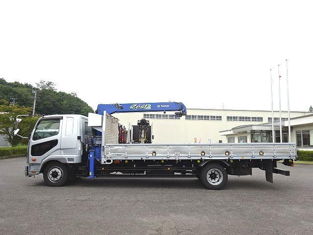 三菱 H26 ファイター 増トン ワイド 平 3段クレーン 画像5