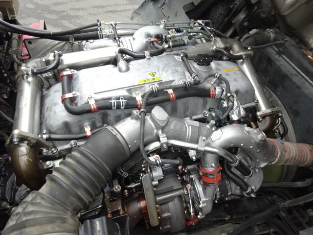 いすゞ H22 ギガ ハイルーフ 4軸低床アルミウィング 画像23