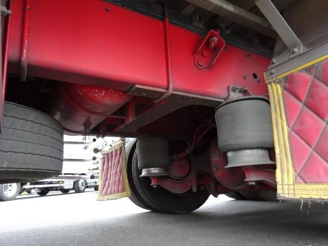 いすゞ H19 ギガ ハイルーフ 4軸低床アルミウィング 画像20