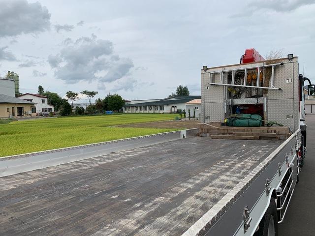 三菱 H31 スーパーグレート セルフ 4段クレーン 画像5
