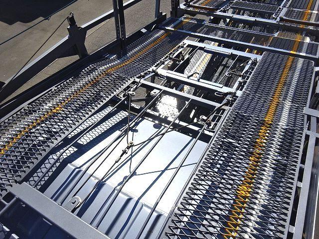 三菱 H26 ファイター 5台積キャリアカー ウインチ付 画像12