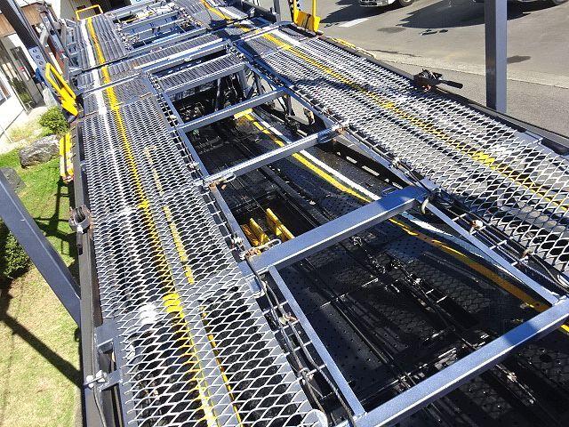 三菱 H26 ファイター 5台積キャリアカー ウインチ付 画像13