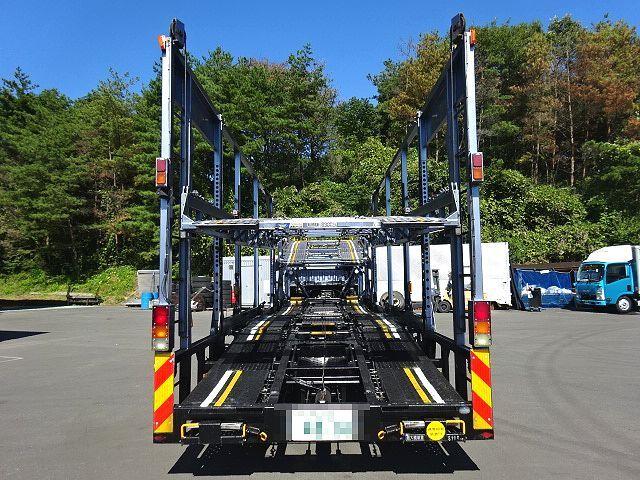 三菱 H26 ファイター 5台積キャリアカー ウインチ付 画像7
