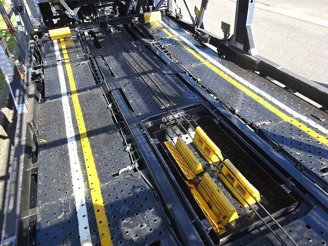 三菱 H26 ファイター 5台積キャリアカー ウインチ付 画像15