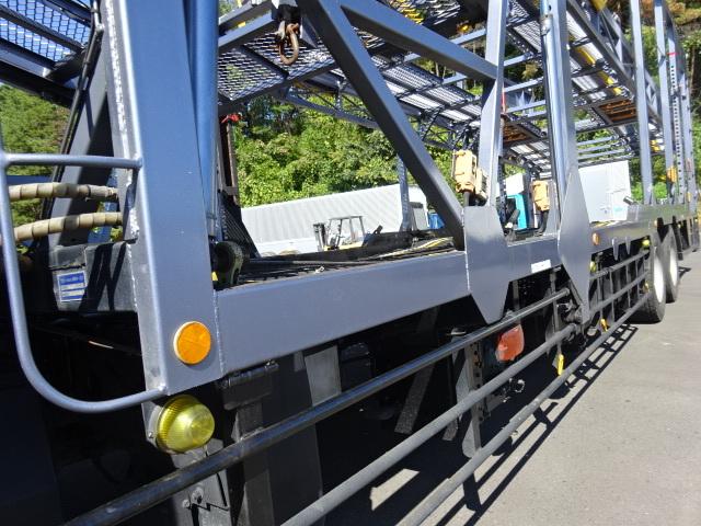 三菱 H26 ファイター 5台積キャリアカー ウインチ付 画像20