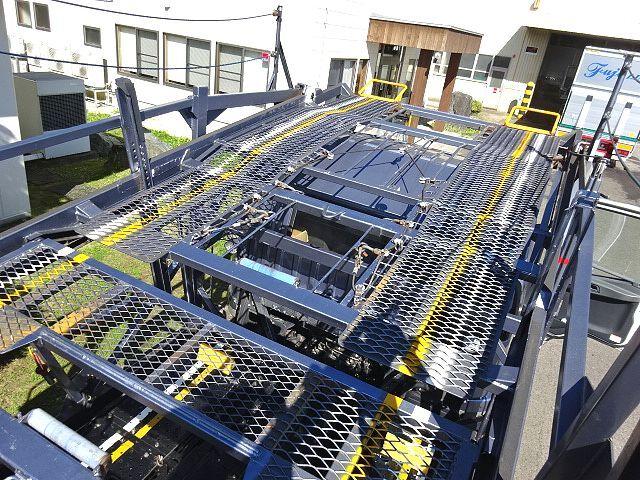三菱 H26 ファイター 5台積キャリアカー ウインチ付 画像10