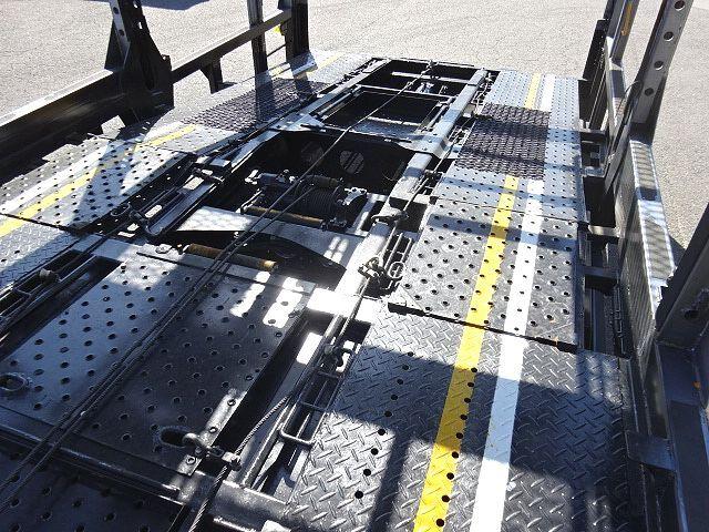 三菱 H26 ファイター 5台積キャリアカー ウインチ付 画像16