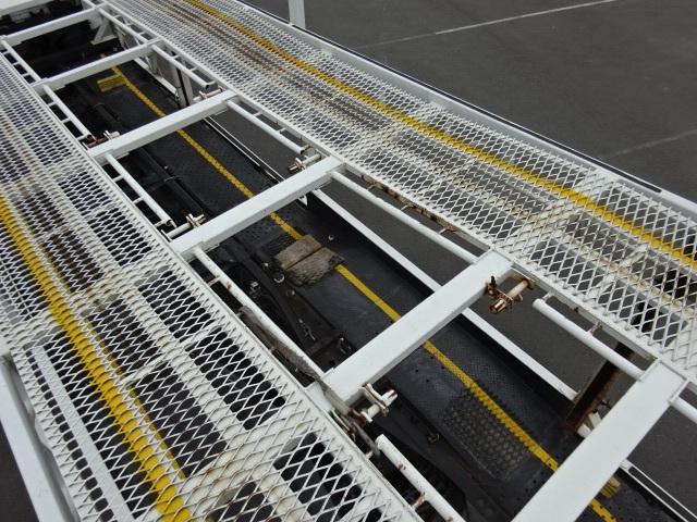 三菱 H23 ファイター 5台積み キャリアカー 車検付 画像15