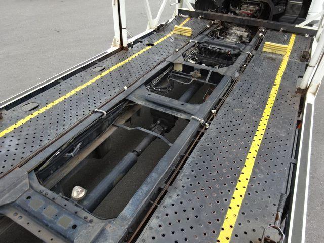 三菱 H23 ファイター 5台積み キャリアカー 車検付 画像11
