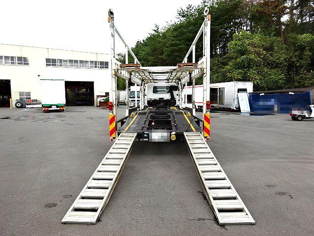 三菱 H23 ファイター 5台積み キャリアカー 車検付 画像21