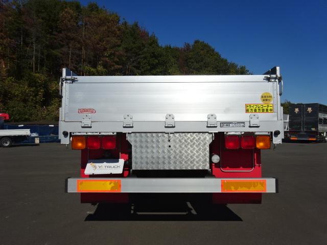 三菱 H22 スーパーグレート 3軸 平 アルミブロック 画像7