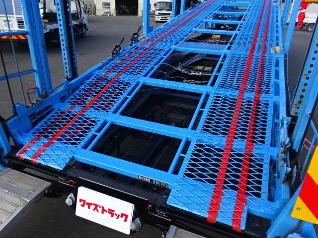 日野 H26 レンジャー 5台積キャリアカー 車検付 画像11
