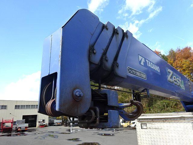 いすゞ H23 ギガ 3軸 平 アルミブロック 4段クレーン 画像12