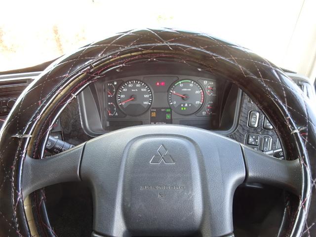三菱 H25 スーパーグレート 4軸低床 冷凍ウィング 画像26
