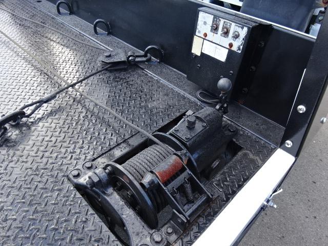 三菱 H15 キャンター セーフティーローダー ウィンチ付 画像17