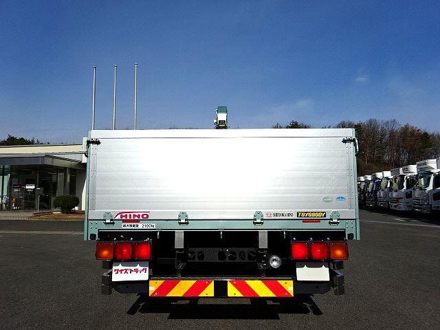 日野 H27 レンジャー ワイド 平 アルミブロック 3段クレーン 車検付 画像9
