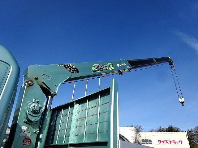 日野 H27 レンジャー ワイド 平 アルミブロック 3段クレーン 車検付 画像11