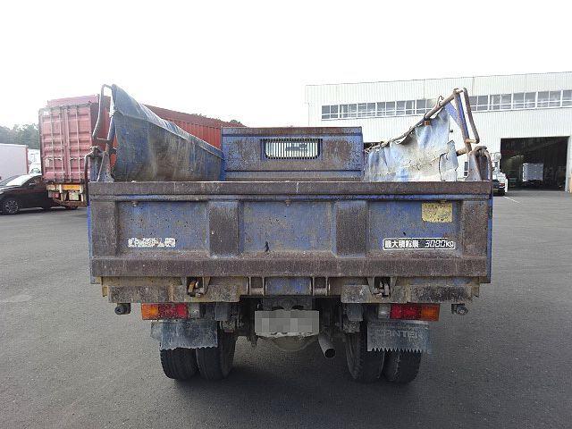 三菱 H14 キャンター ダンプ 車検付 画像8