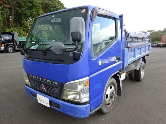 三菱 H14 キャンター ダンプ 車検付 画像1