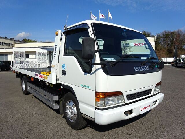いすゞ H10 エルフ キャリアカー 積載3.5t 車検付 画像3